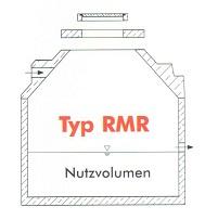 Betonbehälter Typ RMR